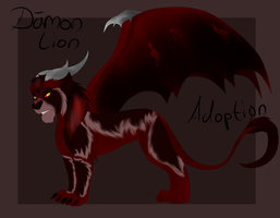 Lion Demon Adoption AUCTION [CLOSED] by Chan98