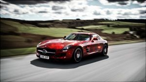 Mercedes SLS AMG by Molchi90