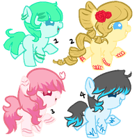 MLP - Adopt Foal Batch [CLOSED] by CindryTuna
