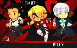 Xenogears Chibi Party by StillJade