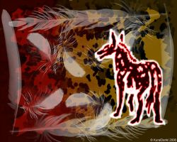 Hyena Paint wallpaper by KuraiDenki