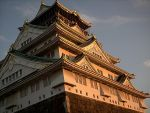 Golden Osaka Castle by DavidinJapan