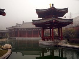 Pagoda Stock 1 by little-stock