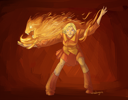 Firedance by wanlingnic
