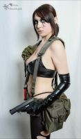 Quiet Cosplay by AlexBlacklight