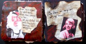 Sylvia altered book IV by Ewanecka