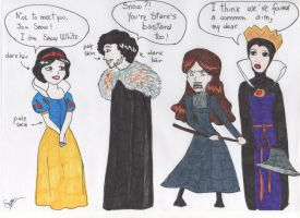 Snow- Disney feat Game of Thrones by hollys14