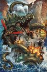 Kaiju Epic! Alt Cover by kevinenhart