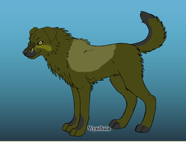 gordy alpha male of the earth wolves by Pythorisawesome
