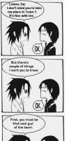 To Sasuke In Sasuke's place by Kuumato
