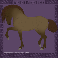 Winter Import #685 by DovieCaba