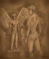The Mortal Instruments: Jonathan and Jace by mseregon