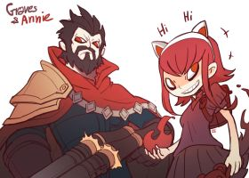 Graves and Annie by LataeDelan