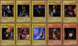 Yu-Gi-Oh Mass Effect Set 12 by Blackcell8