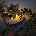 the gleam of the evening light by GLO-HE
