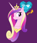 Princess Cadence Bust by ShadOBabe