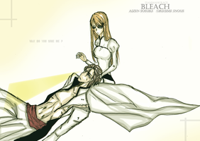 bleach orihime save aizen by FiammahGrace