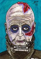 Vader Unmasked Sketch Card by Jack Chattox by JChattox