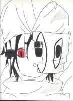 Asura (Soul Eater) Sketch by taytay128