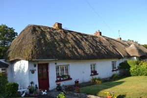 The Thatch Roofs of Adare by SWYaden