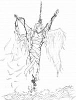 Chained-Up Angel by fallen-angel-112358