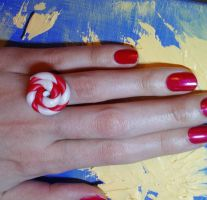 lollipop ring by strictlyhandmade