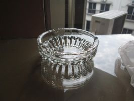 Glass Bowl (1) by LeenaHill