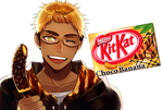 Mr. KitKat Series: Choco Banana by Cioccolatodorima