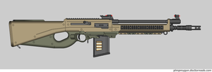 Caracara battle rifle by Robbe25