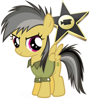 iMovie Pony Icon by colorized-happily