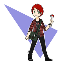 Michael Clifford: Pokemon Trainer by gucciwreck
