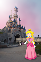 Peach in Fantasyland by ZeFrenchM