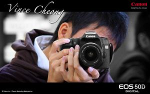 50D with Vince by HolyWiz