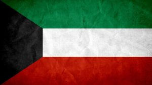 Kuwait Grunge Flag by SyNDiKaTa-NP
