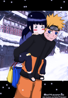Naruhina ~ winter by hallow1791