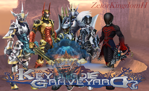 Kingdom Hearts - Keyblade Graveyard by zetorKingdomH