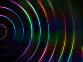 Psychedelic disco wallpaper by RiccardoStecca