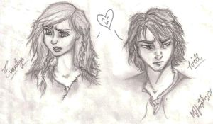 Will and Evanlyn by AquariusMj212