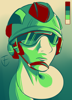 [Palette challenge] #8 by T3NG4