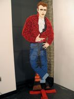 Life-Size James Dean (Candy) by HeatherHilbrink