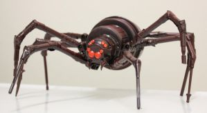 assemblage brown spider 2 by rupertvalero
