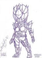My Oc Kamen Rider Diamond by Anime-Maika