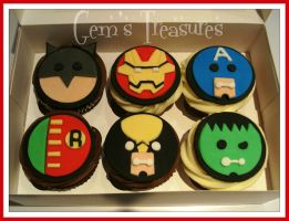 Cupcakes Can Be Heroes by gertygetsgangster