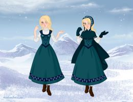 Snow Queen Maker: Gerda 5 by Saphari