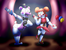 Funtime Duet by Rebexorcist