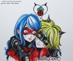 LineArt Miraculous LadyBug - 18 Inktober by CristinaEsteve