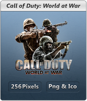 CoD World at War - Icon by Crussong
