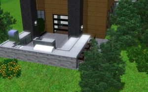 Sim house 26 - Outdoor Kitchen by A-han-343