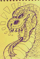 SNAKE REX by Ganja-Shark