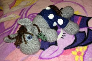 Smarty Pants Amigurumi by IncredibleMath